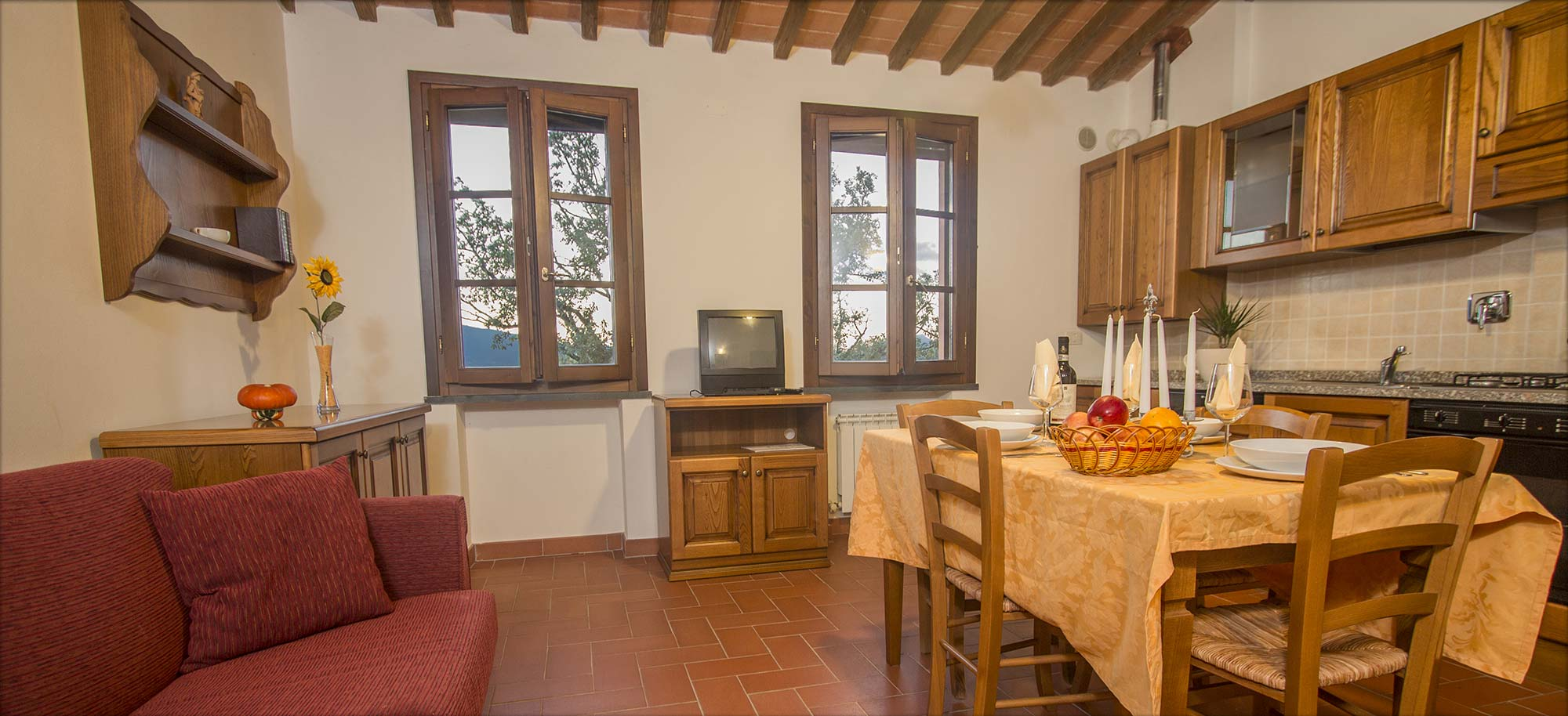 Corte Tommasi - Holiday apartments in Tuscany - 206 - Tuscany apartment with swimming pool