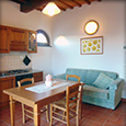 Corte Tommasi - Rosa (106) - Holiday apartment with swimming pool in Tuscany, Italy